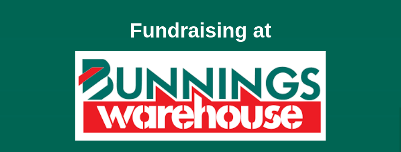 Fundraising BBQ at Bunnings Warehouse